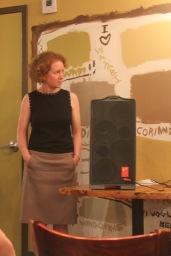 Andrea Nicolay, Moderator (Director--Robbins Library)